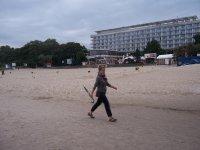 spacer po plaży