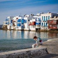 W Grecji nad morzem